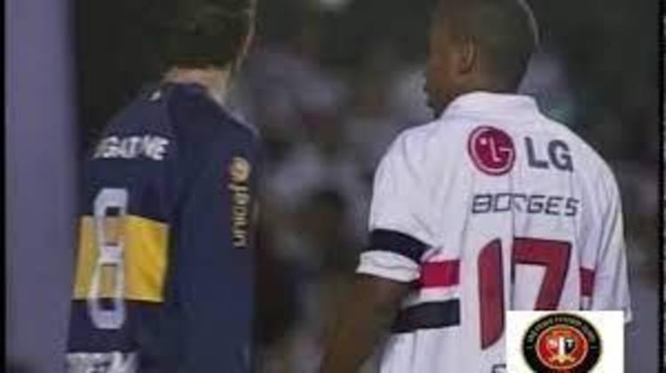 19/09/2007 – Boca Juniors 2×1 São Paulo (Copa Sul-Americana 2007) - Pelo jogo de ida das oitavas de final, o Boca levou a melhor na Argentina. Palermo, duas vezes, fez os gols dos Xeneizes e Borges descontou.