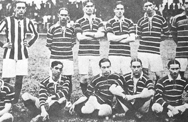1914 - 1º título estadual do Flamengo - Vice: Botafogo