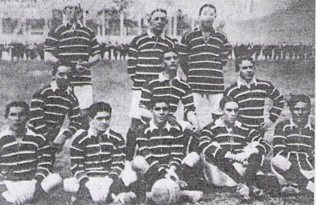 1915 - 2º título estadual do Flamengo - Vice: Fluminense
