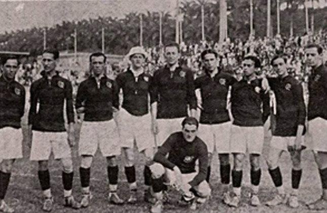 1920- 3º título estadual do Flamengo - Vice: Fluminense