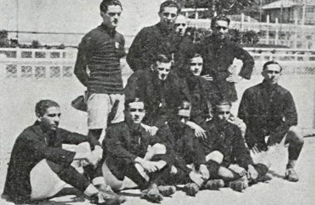 1921- 4º título estadual do Flamengo - Vice: América