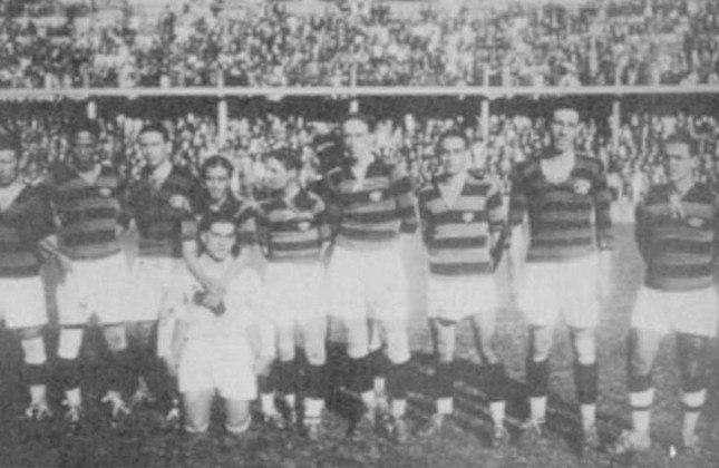 1925- 5º título estadual do Flamengo - Vice: Fluminense