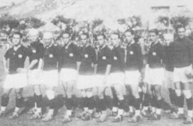 1927- 6º título estadual do Flamengo - Vice: Fluminense