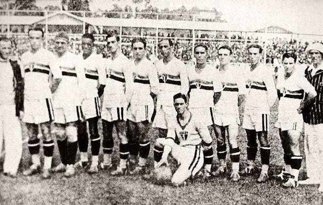 1931 - 1º título estadual do São Paulo - Vice: Palestra Itália (Palmeiras)