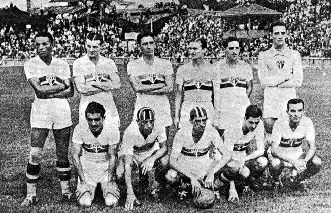 1939 - São Paulo 6 x 0 Palestra Italia - A maior goleada do Choque-Rei foi no antigo estádio da Rua da Mooca, pelo Paulista de 1939. Gols de Armandinho (3), Elyseo, Paulo e Araken Patusca.