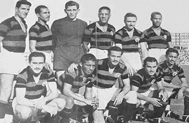 1943 - 9º título estadual do Flamengo - Vice: Fluminense