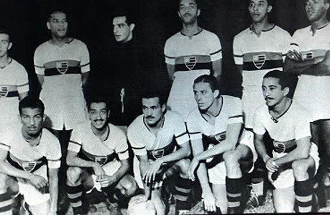 1944 - 10º título estadual do Flamengo - Vice: Vasco