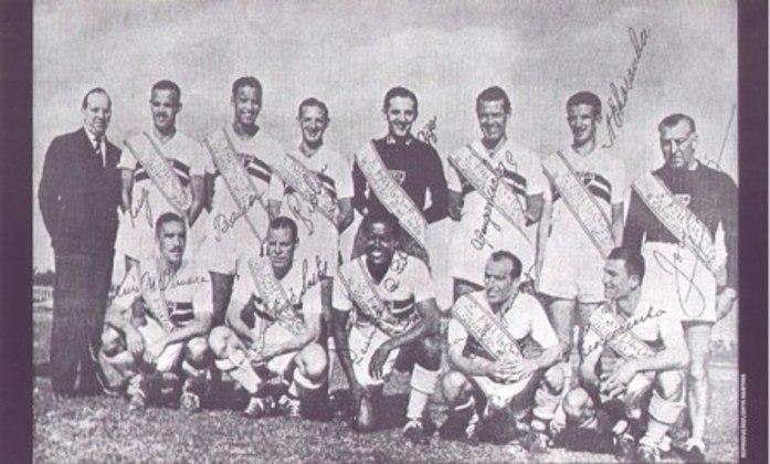 1946 - 4º título estadual do São Paulo - Vice: Corinthians