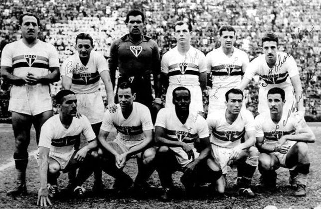 1948 - 5º título estadual do São Paulo - Vice: Santos