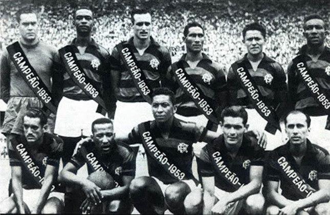 1953 - 11º título estadual do Flamengo - Vice: Fluminense