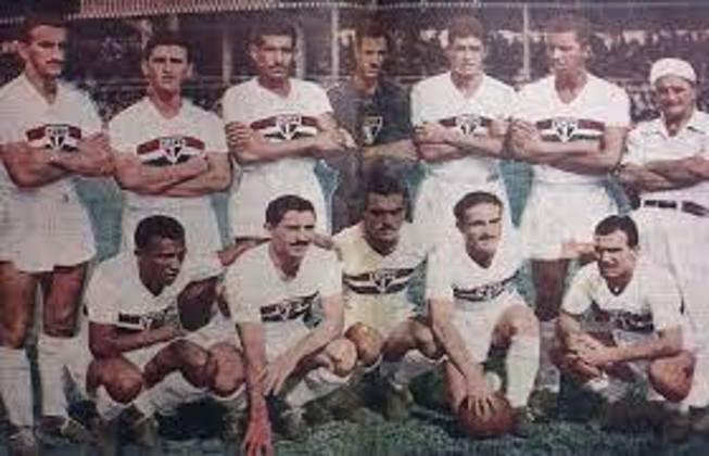 1953 - 7º título estadual do São Paulo - Vice: Palmeiras