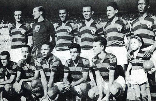1955 - 13º título estadual do Flamengo - Vice: América