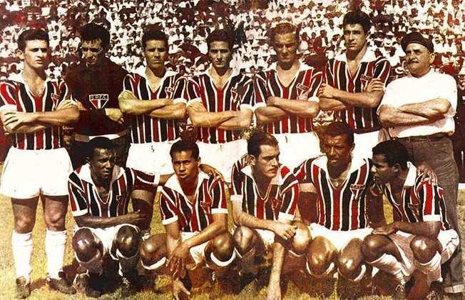 1957 - 8º título estadual do São Paulo - Vice: Santos