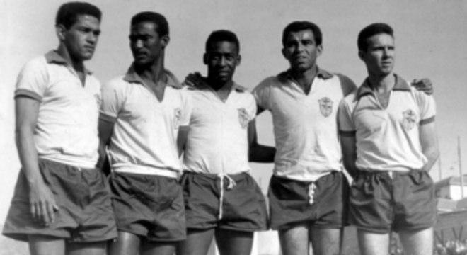 1962 Brasil Garrincha, Didi, Pele, Vava e Zagallo