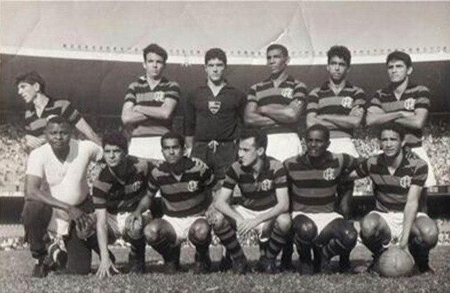 1965 - 15º título estadual do Flamengo - Vice: Bangu