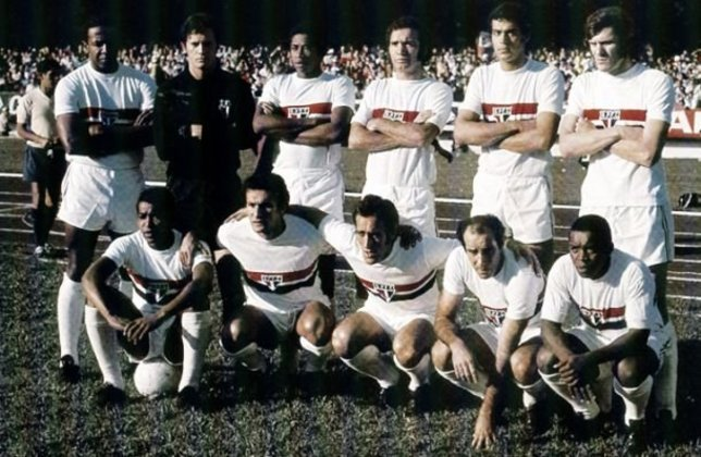 1971 - 10º título estadual do São Paulo - Vice: Palmeiras