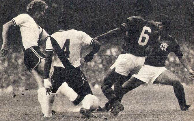 1974 - 17º título estadual do Flamengo - Vice: Vasco