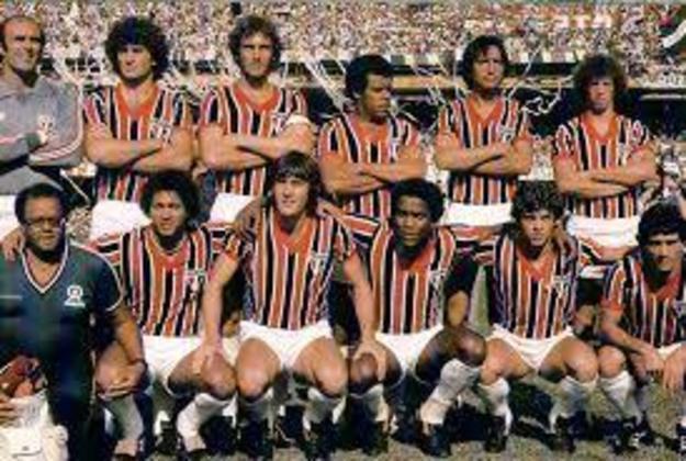 1980 - 12º título estadual do São Paulo - Vice: Santos