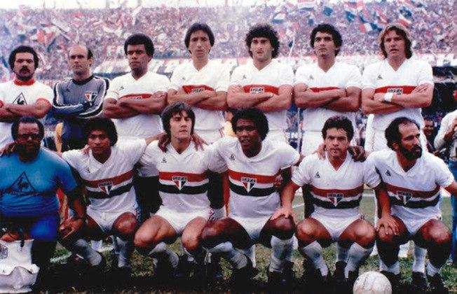 1981 - 13º título estadual do São Paulo - Vice: Ponte Preta