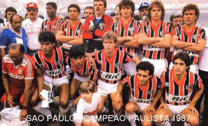 1987 - Guarani 3 x 1 São Paulo - Primeira derrota do Tricolor na estreia da Libertadores. Muller fez o gol de honra do São Paulo, enquanto Henágio (2) e Carlinhos fizeram para o Bugre.