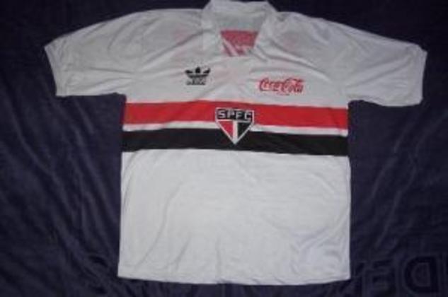1988 a 1991 - Coca-Cola - A maior fabricante de bebidas do mundo patrocinou o São Paulo por quatro temporadas.