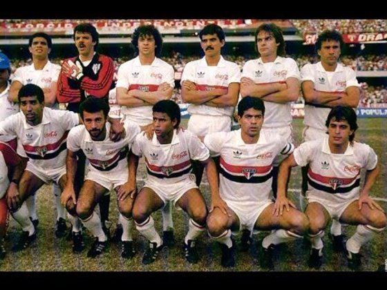 1989 - 16° título estadual do São Paulo - Vice: São José