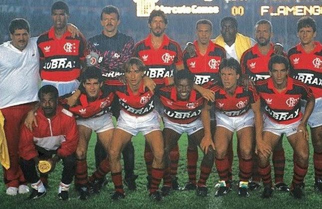 1991 -  23º título estadual do Flamengo - Vice: Fluminense