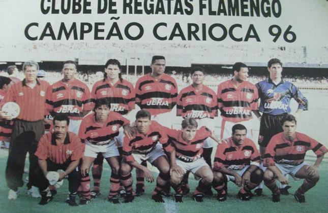 1996 -  24º título estadual do Flamengo - Vice: Vasco