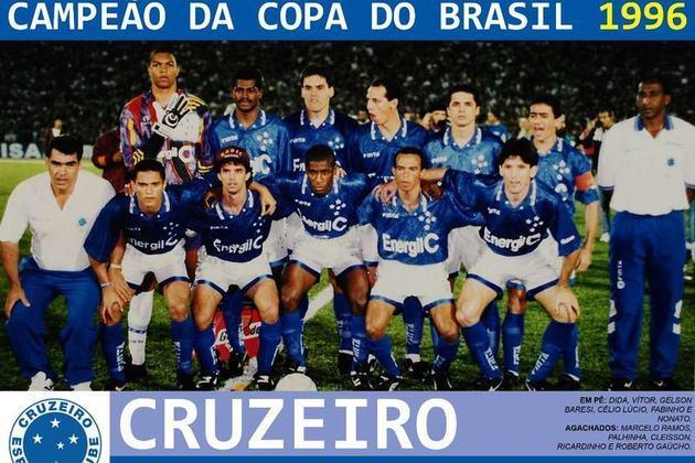1996 - Cruzeiro na Copa do Brasil