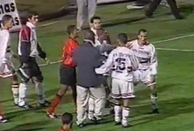 1997 - Oitavas de final - Vitória: o algoz nesse ano foi o Leão de Salvador, venceu a ida por 2 a 1 e empatou a volta em 2 a 2, eliminando o Tricolor.