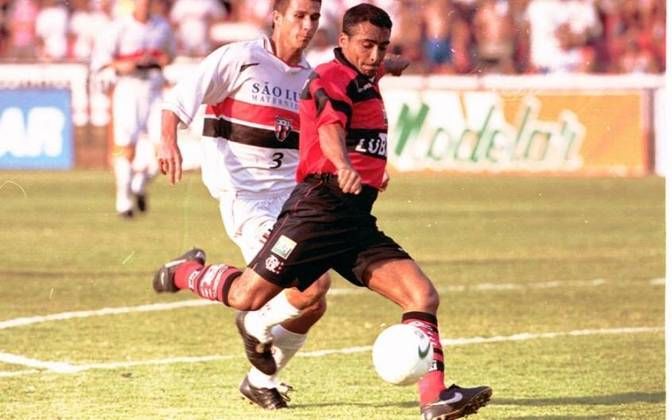 1997 - Romário - 17 gols