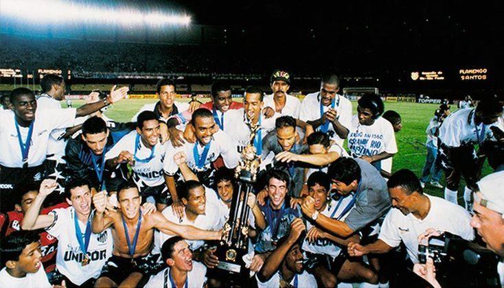 1997 - Santos no Rio-SP