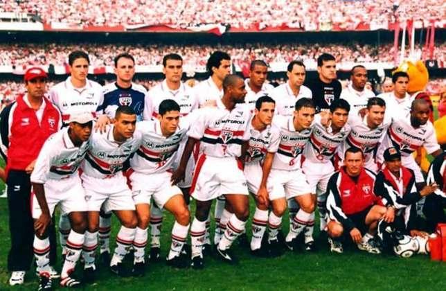 1998 - 19° título estadual do São Paulo - Vice: Corinthians