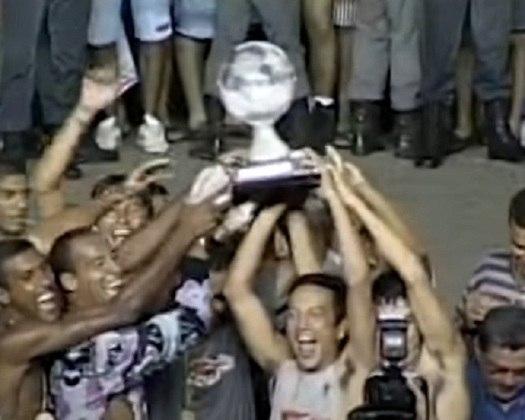 1998: Campeão - América de Natal / Vice: Vitória