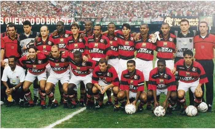 1999 -  25º título estadual do Flamengo - Vice: Vasco