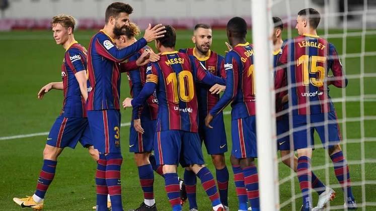 2º: Barcelona (Espanha - futebol) - 12.0 milhões de interações