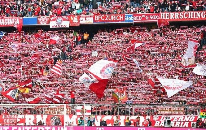 2 - Bayern Munique (GER) Jogos:348/ Vitórias:202/ Empates:72/ Derrotas:74/ GM:708/ GS:347 / Títulos: 5