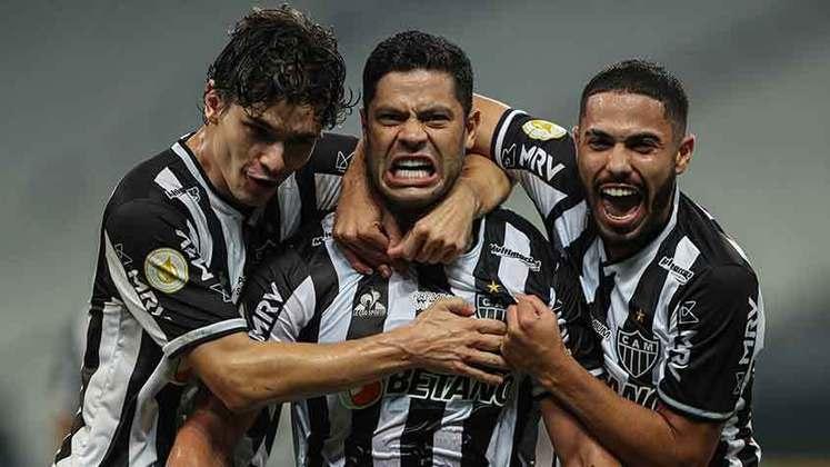 2º colocado - Atlético-MG (25 pontos) – 12 jogos / 19.8% de chances de título; 81.1% para vaga na Libertadores (G6); 0.16% de chances de rebaixamento.