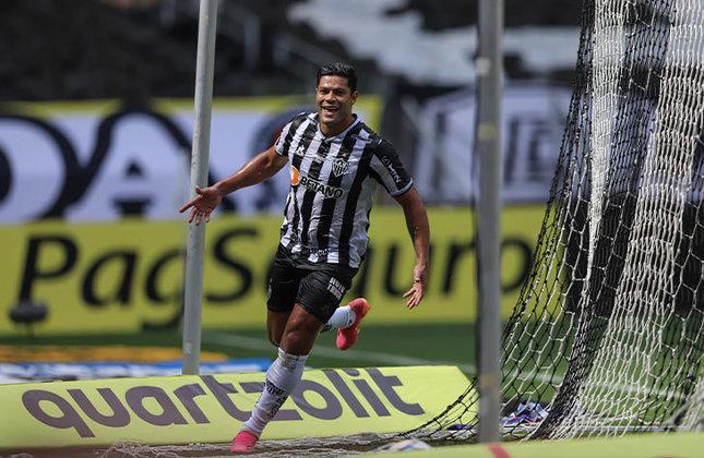 2º colocado - Atlético-MG (31 pontos) – 14 jogos / 29.3% de chances de título; 91.5% para vaga na Libertadores (G6); 0.011% de chances de rebaixamento.