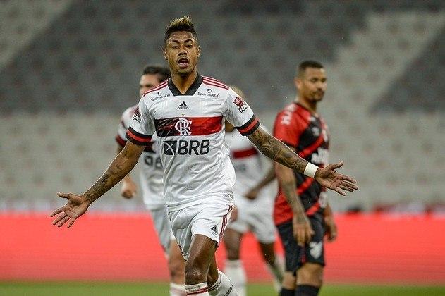 2º colocado – Flamengo (39 pontos) – 16,8% de chances de título; 84,2% para vaga na Libertadores (G6); 0,007% de chance de rebaixamento.
