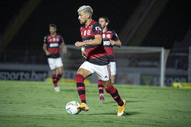 2º colocado – Flamengo (68 pontos/36 jogos): 30.5 % de chances de ser campeão; 100% de chances de Libertadores (G6); 0% de chances de rebaixamento.