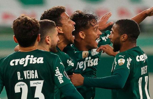 2º colocado - PALMEIRAS (32 pontos) - 16 jogos - Título: 13,3% - Libertadores: 86,4% - Rebaixamento: 0,0042%