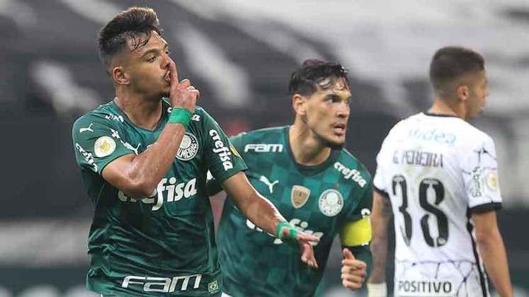 2° colocado - PALMEIRAS (38 pontos) - 21 jogos - Título: 5,3% - G6: 82,7% - Rebaixamento: 0,037%