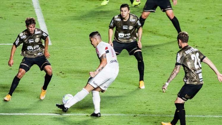 2º colocado – São Paulo (58 pontos/32 jogos): 7% de chances de ser campeão; 98.3% de chances de Libertadores (G6); 1.7% de chances de Sul-Americana; 0% de chances de rebaixamento.