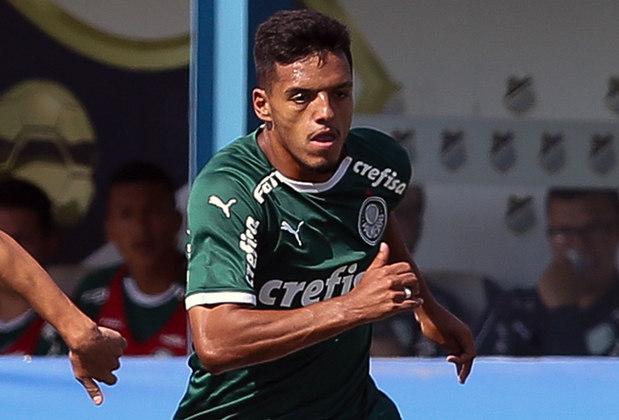 2º - Dando um grande salto, o meio-campista e também lateral Gabriel Menino (20 anos), do Palmeiras, foi lembrado 15 vezes entre os votantes e somou 56 pontos. Em 15 jogos, ele deu três assistências.