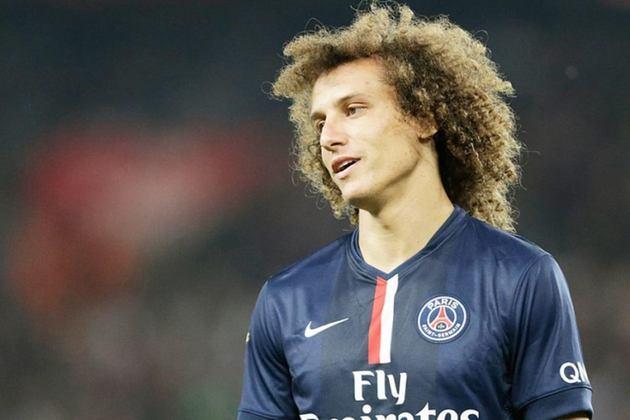 2º - David Luiz - O PSG não economizou para contratar o zagueiro brasileiro junto ao Chelsea, na temporada 2014/2015.
