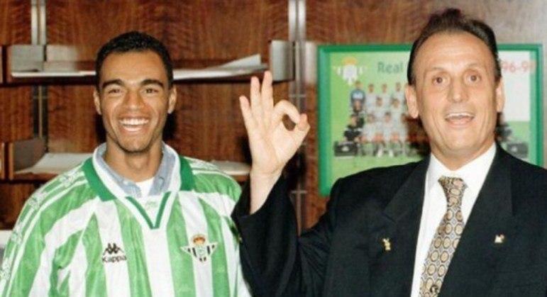 2º - Denilson - Também revelado pelo São Paulo, o meia foi vendido ao Bétis, da Espanha, por 31,5 milhões de euros (cerca de R$ 203 milhões), na temporada 1998/99