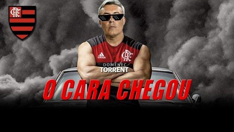 2. DOMÈNEC: com comparações envolvendo Dominic Toretto, Domènec Torrent chegou ao Flamengo com grande aprovação dos rubro-negros