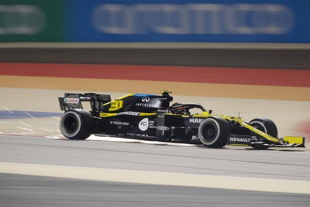 2º - Esteban Ocon (Renault) - 8.68 - Tirou o band-aid do primeiro pódio. Merece aplausos.
