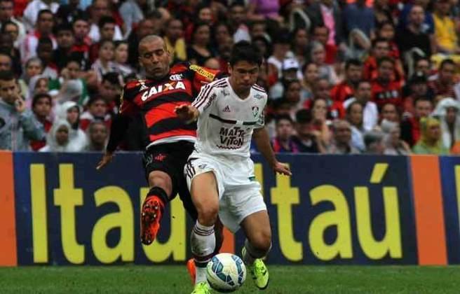 2- Fluminense 1 x 3 Flamengo - Brasileirão - 06/09/2015 - 50.468 pagantes e 55.999 presentes (torcida mista).